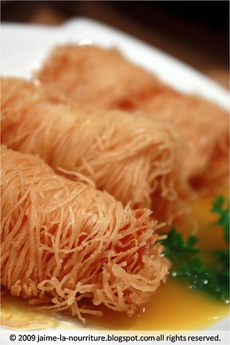 Tang Dian Wang - Fried Prawn Dumpling Dipped in Mango Sauce