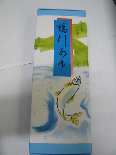 Kamogawa ayu from Kyoto