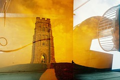 . (Trapac) Tags: uk red summer england orange green tower film k yellow stone buildings bristol spiral gold golden iron doubleexposure hill glastonbury arches somerset plasticfantastic 200iso doorway staircase portal konica tor hybrid nationaltrust vivi railings vivitar find pathway hilltop spiralstaircase plasticcamera doubles glastonburytor konicaminolta holyhill wmh cumberlandbasin stmichaelstower conicalhill explored redscale vxsuper vivitarultrawideslim vivitarultrawideandslim vivitarws isleofglass vivitarroll30 vivitarroll31 konicaminoltavxsuper kingofthefairies summerlandmeadows homeofgwynapnudd firstlordoftheunderworld ynysyrafalon avalonofarthurianlegend yniswitrin hybriddoubleexposure hybriddoubles1 doubles10 redscale7 redscale8 redscale78 vivitarroll3031 glastonburytorcumberlandbasin