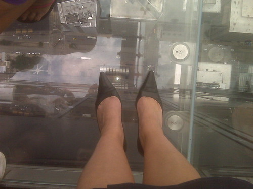 My Feet Standing On The Ledge