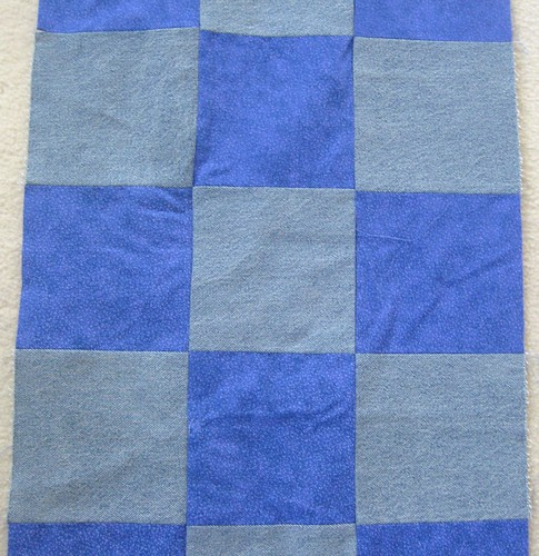 """Recycle"" Quilt: Where Blue Jeans Become A Quilt!"