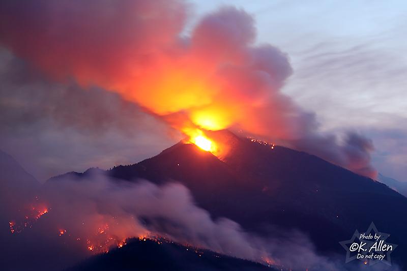 Della Creek Fire