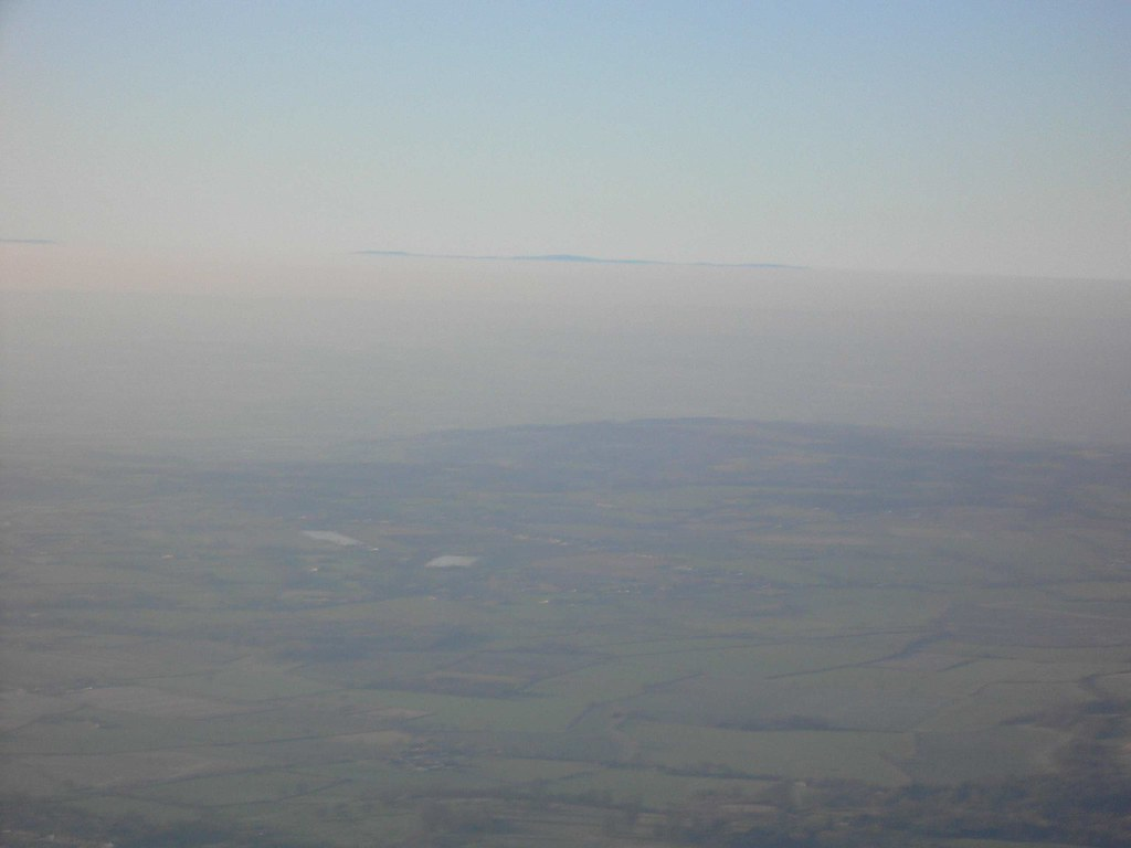 The Welsh Hills Just Popping Above The Inversion