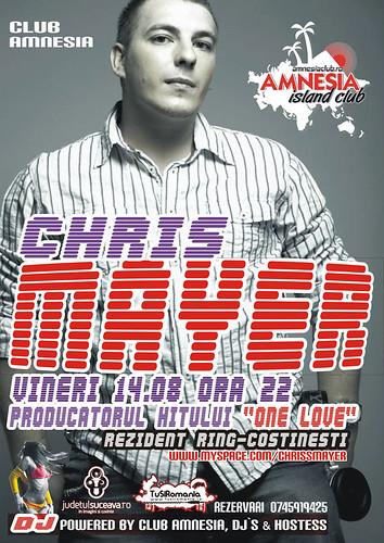 14 August 2009 » DJ Chris Mayer