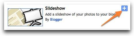 Blogger: Slideshow