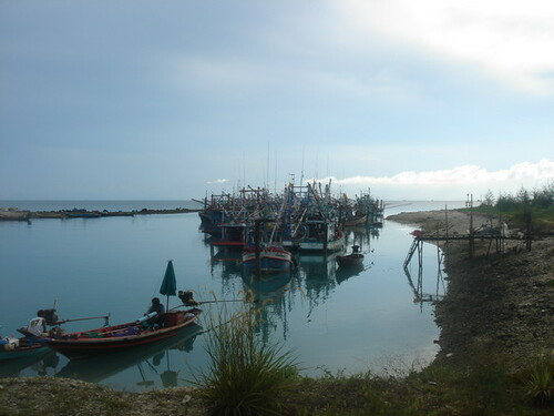 Fishing boats at Ao Seethanu, Ko Pha Ngan