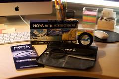 Hoya Filter Set 2 (monaalexandra) Tags: digital 35mm lens nikon warm uv filter adapter kit hama introduction converter hoya circularpl d5000 circularpol hoyafilterset hoyafilterkit 52mmto72mm