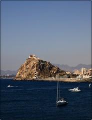 La Novia del Mar (Gins S.@Fotografias) Tags: faro mar barco olympus fortaleza castillo aguilas velero gines e510