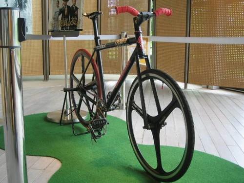 matsuda shota's bike