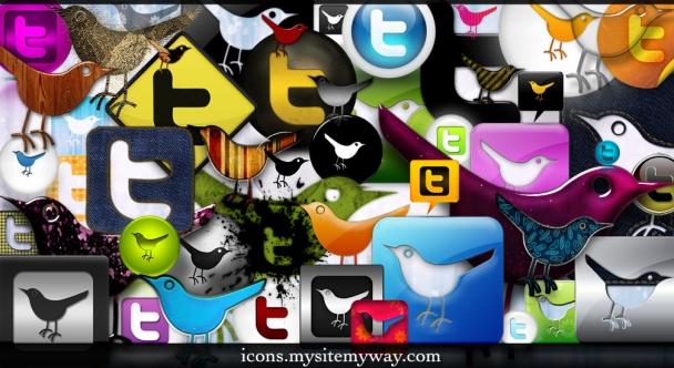 54 ícones para o Twitter