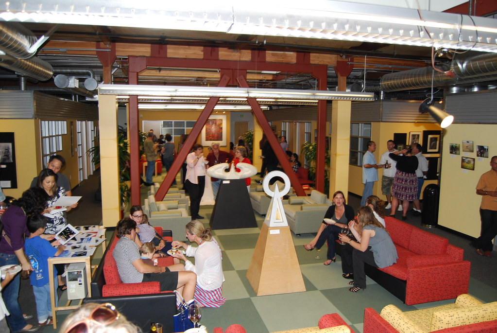 2009 Art Show at Perforce Software, Alameda