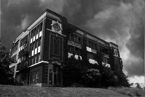 school on haunted hill