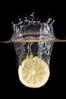 The Slice Queen (Khaled A.K) Tags: water yellow photography lemon tank slice crown sa jeddah splash saudiarabia khaled highspeed ksa strobes jiddah kashkari
