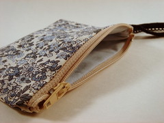blue fields inside (Toot Sweet!) Tags: handmade sewing crafts pouch etsy changepurse wristlet