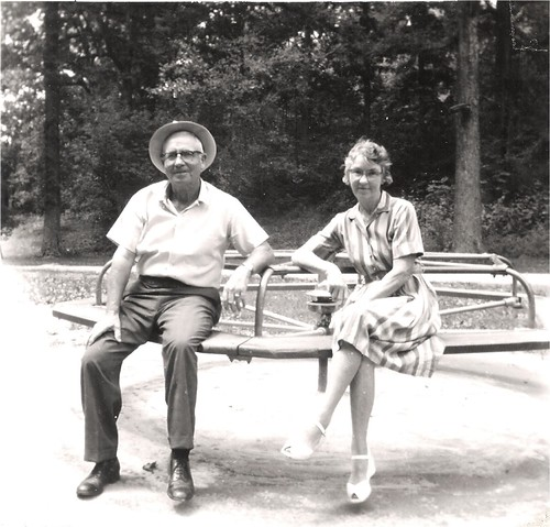 Clarence and Ruth ~ August 1963
