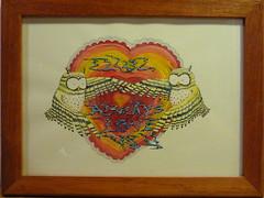 """""""Owl always Love You"""" Charlie Hobbs 2009 (charleswesleyhobbs) Tags: watercolor charles charlie owl hobbs"""
