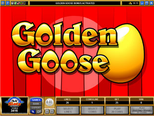 free Golden Goose Totem Treasure gamble bonus game