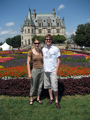 ian and tammy at biltmore