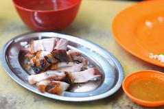 Extra order of roast pork, Kek Seng Coffeeshop, Jalan Pinang, Georgetown