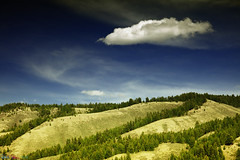 Cloud (Pulok Pattanayak) Tags: blue sky usa cloud us wyoming grandteton
