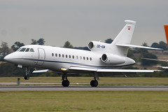 OE-ISM - Private - Dassault Falcon 900DX - Luton - 090907 - Steven Gray - IMG_4531