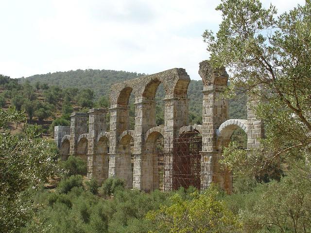 Βόρειο Αιγαίο - Λέσβος - Δήμος Μυτιλήνης Ρωμαϊκό υδραγωγείο Μόριας