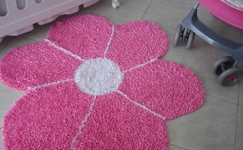 tapetes na decoração