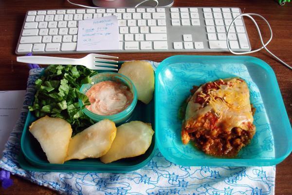 9-29 taco bake leftovers ftw!