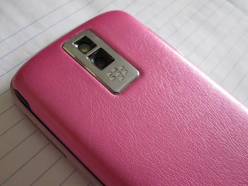 Pink BlackBerry Bold 9000