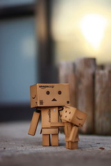 (sⓘndy°) Tags: sanfrancisco toy toys box figure figurine sindy kaiyodo yotsuba danbo revoltech danboard 紙箱人 阿楞 amazoncomjp
