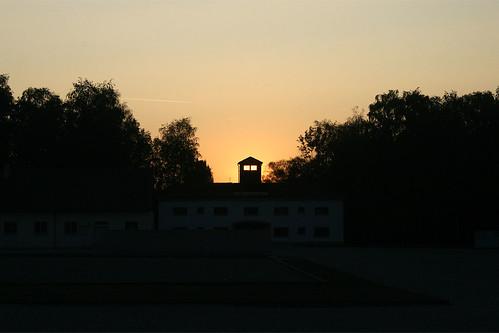 Dusk at Dachau