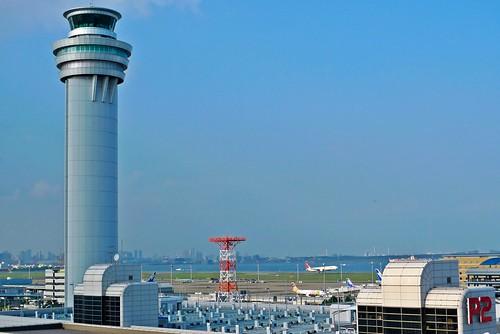 Landing at Haneda