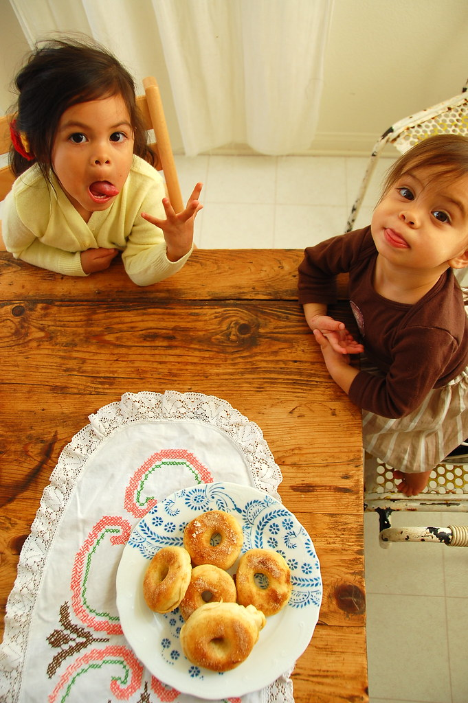 mommy! we want doughnuts