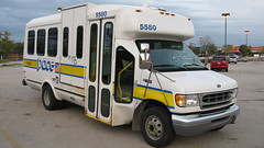 First Transit 2001 Ford paratransit bus # 5580.