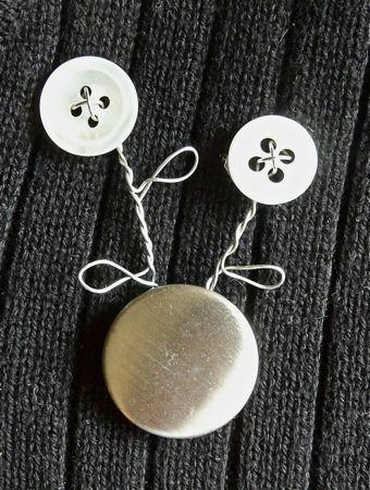 düğme broş yapımı