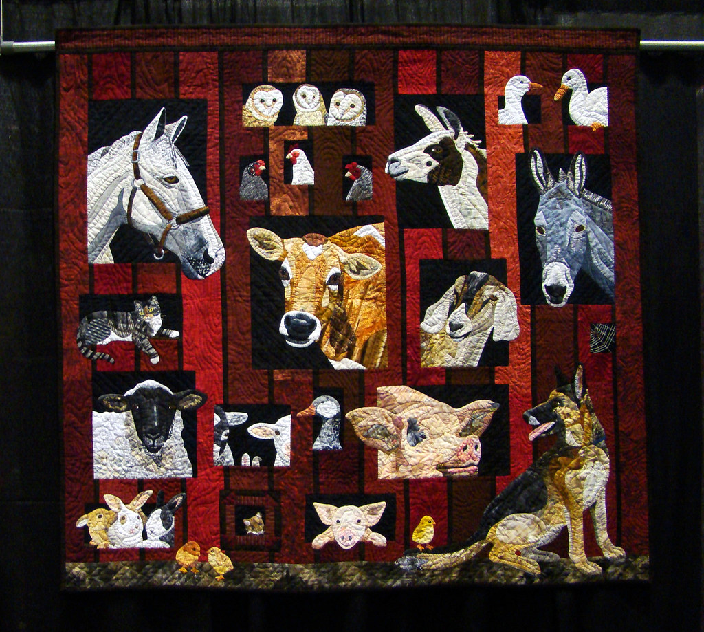 DSC02679 Quilt 1013 EIEIO by Nancy S Brown cropped