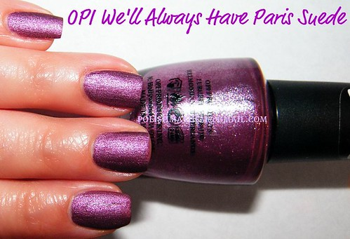 OPI We'll Always Have Paris Suede
