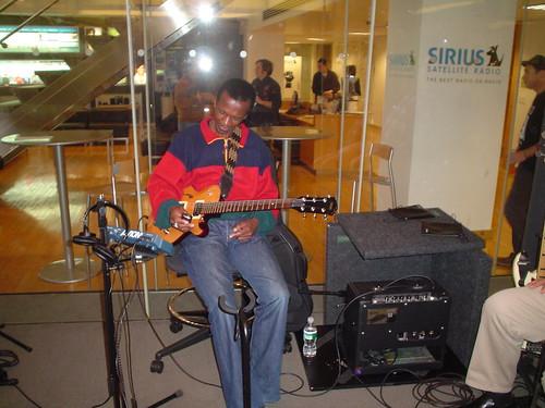 Master guitarist Louis Mhlanga settles in at Sirius XM