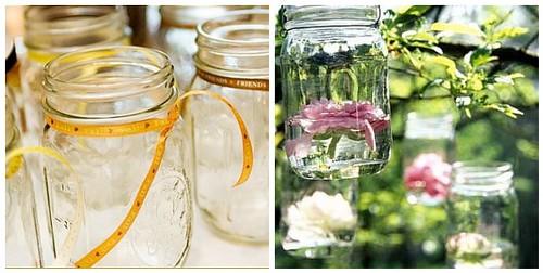 Outdoor Wedding Decorations Mason Jars