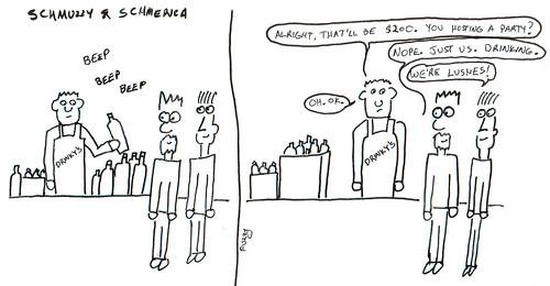 366 Cartoons - 269 - Schmuzzy and Schmerica