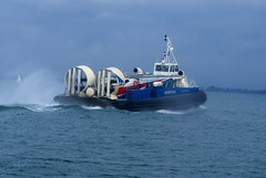 Hovercraft at Ryde