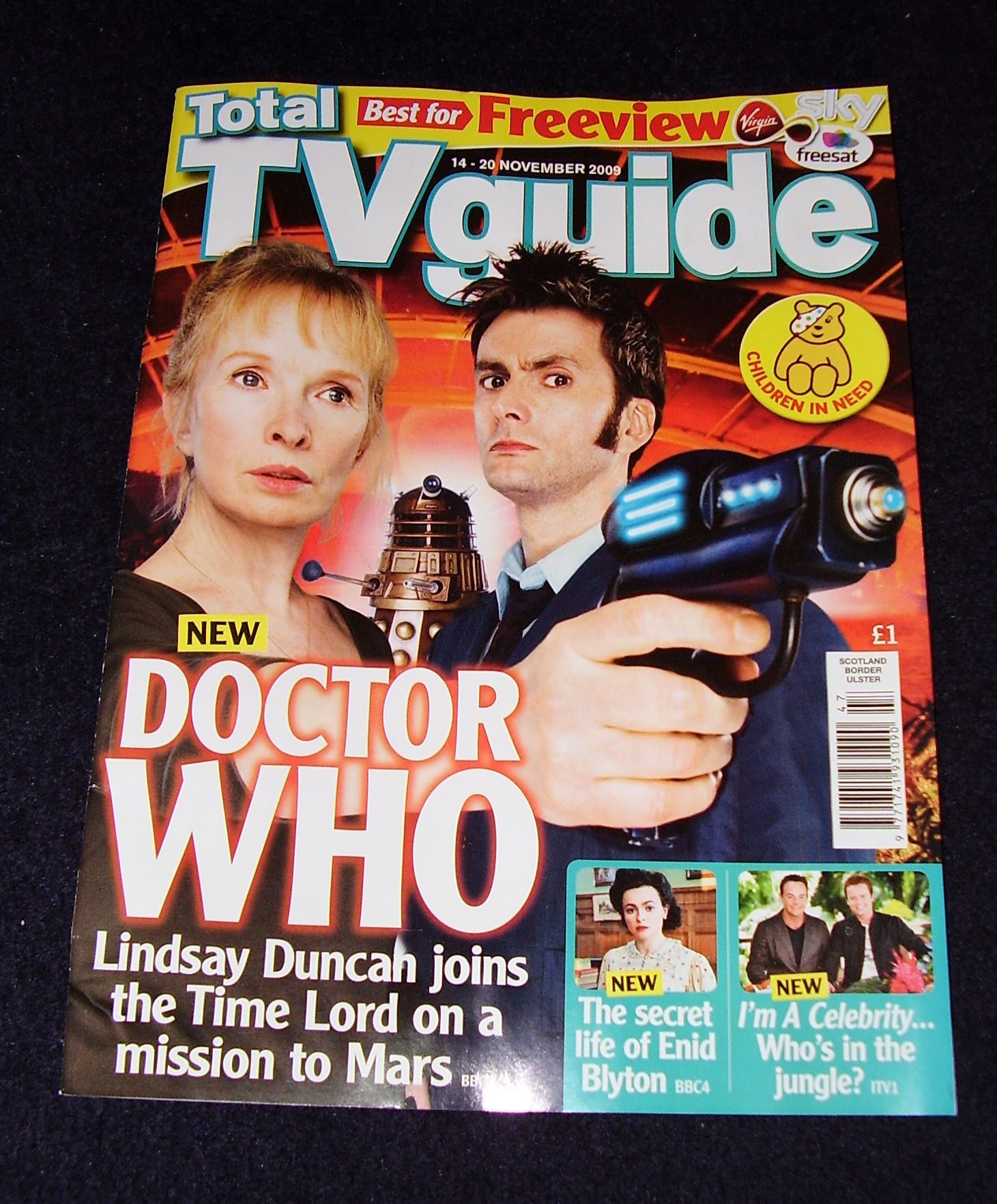 TOTAL TV GUIDE - Waters of Mars