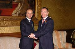 Ministro Ronchi incontra il Ministro inglese Chris Bryant (Dipartimento Politiche Europee) Tags: di lisbona trattato