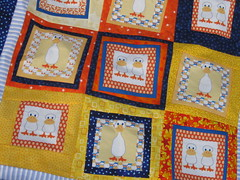Quacker quilt top