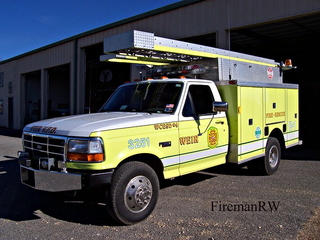 rescue ford firetruck pierce
