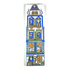 Arabia, Finland town house wall plaque (Wooden donkey) Tags: ceramic porcelainvintage