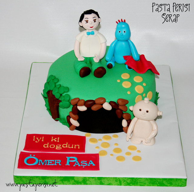 night garden cake - Ömer