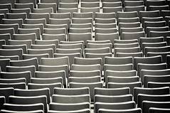 ungerade (mav_at) Tags: barcelona abstract stadium seats olympic olympiastadion zuschauer stehplatz tribne sitzreihen sitzschale ungerade