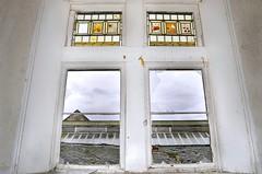 Asylum 'GR' (Michelle O'Connell Photography) Tags: asylum mentalinstitute derelict abandoned scotland window victorianasylum victorianstainedglass acategorylisted royalasylum urbexexploring michelleoconnellphotography