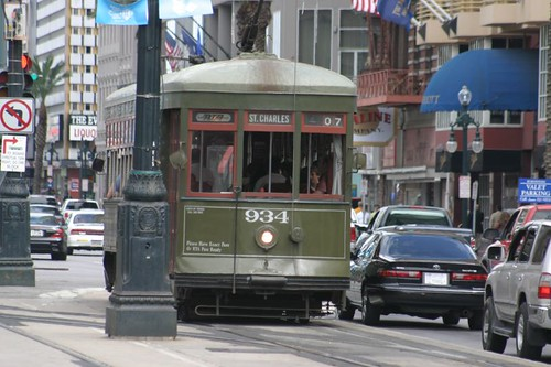 The New Orleans street car...